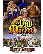 Paper Miniatures - A Day at the Market (Deluxe Edition) Thumb