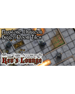 Kev's Lounge Dungeon Tiles - Flagstone, Bigger Rooms