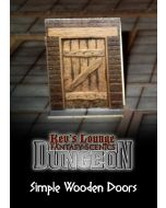 Kev's Lounge Dungeon Doors - Simple Wooden Doors