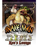 Paper Miniatures - Snake Men (Basic Edition) Thumb