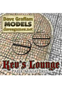 25mm Round - Dave Graffam Red Cobbles
