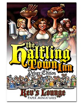Paper Minis - Halfling Town Inn Deluxe Cover