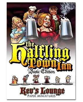 Paper Minis - Halfling Town Inn Basic Cover
