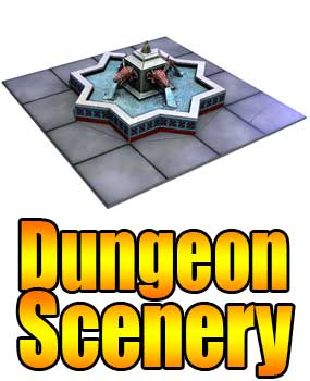 Papercraft dungeon print and play gaming dungeon front button altavistaventures Image collections