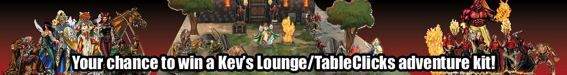 Kev's Lounge/TableClicks Giveaway